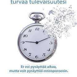 Rakasta luitasi -juliste: kello