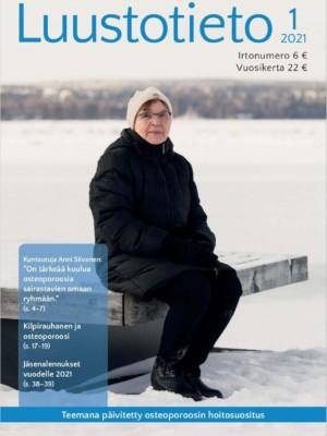 Luustotieto 1/2021 -lehden kansikuva.