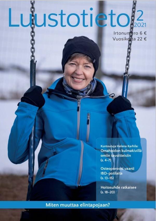 Luustotieto-lehden 2-2021 kansi.