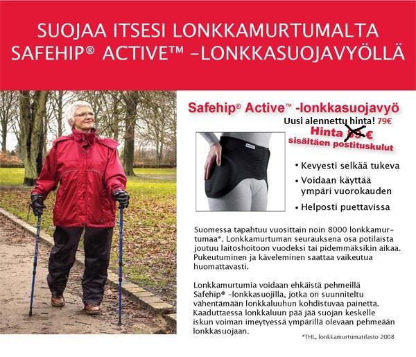 Safehip® Active™ -lonkkasuojavyö