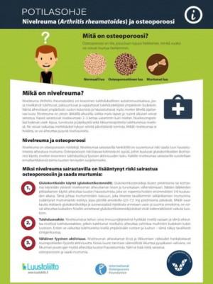 Nivelreuma ja osteoporoosi